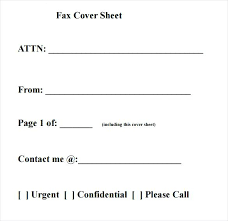 Personal Fax Cover Sheet Sample Free Documents In Example Of A ...