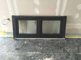 Anthrazit Fensterrahmen