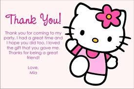 invitation card hello kitty halloween party thank you cards hello kitty thank you cards design