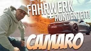 Jp Performance Chevrolet Camaro Neues Fahrwerk Rundenzeit Auf Der Lasise Youtube