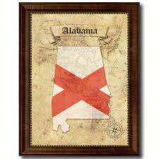 alabama state vintage map home decor wall art office decoration gift ideas on alabama state wall art with alabama state vintage map art office wall home decor rustic gift