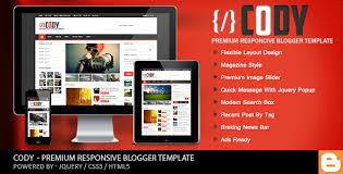 Blogger Mobile Template Cody Responsive Magazine Blogger Template By Cbtblogger Themeforest