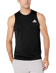Adidas Mens Shirt Size Chart Adidas Mens Freelift Sleeveless T Shirt At Amazon Mens
