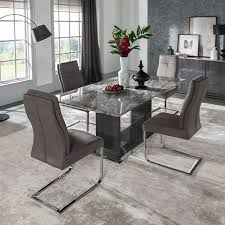 decorative marble dining room set rina table
