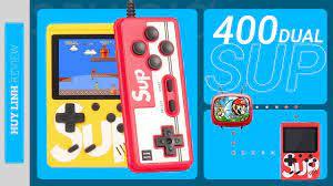 Máy chơi game cầm tay 4 nút Sup Box 300 In 1 Hỗ trợ 2 người chơi HCM