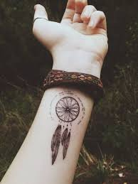 Dream Catcher Tattoo On Hand
