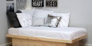 twin platform bed frame. Elegant Twin Platform Bed Frame In Pine O