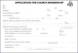 Club Membership Form Template Gym Application Form Template