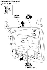 remove the latch remote control assembly from the door