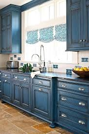 chalk painted kitchen cabinets bright and blue blue kitchen chalk painted kitchen cabinets white