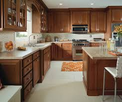 Small Picture Traditional Kitchen with Cherry Cabinets Homecrest