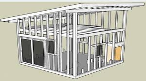 Simple Shed Roof Framing Simple Shed Roof House Plans  shed roof