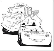 Colouring In Pages Lightning Mcqueen L
