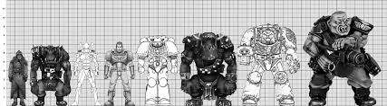 Space Marine Height Chart So Nobz What To Do With Them Page 3 Warhammer 40 000