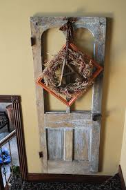 Old Door Decorating Old Door Decor Door Decor Home Decorating With Wood Doors Help