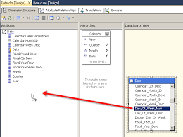 Msas Cubes How To Add New Dimension Attributes To The Existing Dimension