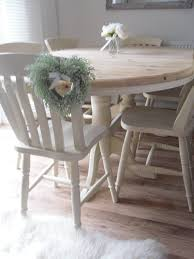extending pine farmhouse dining table 6 chairs beautifully red in shabby chic