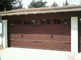 brown garage doorsVinyl Garage Doors Dark Browndark Brown Garage Doors With