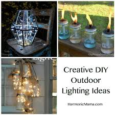 creative outdoor lighting ideas. Friday Finds \u2013 Creative DIY Outdoor Lighting Ideas