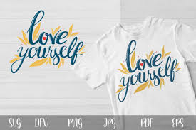 Believe in yourself hand drawn vector lettering. 0 Motivating Quote Dxf Designs Graphics
