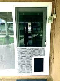 doggy door for glass door screen door with door storm door door sliding glass dog door