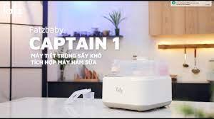 Máy tiệt trùng sấy khô điện tử tích hợp khoang hâm sữa - CAPTAIN 1 -  FB4320JS