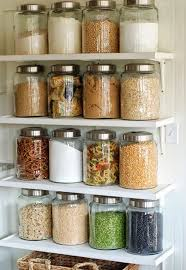 Open Shelf Pantry: Not all of us are blessed with a walk-in pantry, but we  love the country charm of this open shelving. Keep just the main staples in  ...
