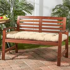 Bench Rectangle Outdoor Cushions & Pillows For Less