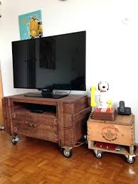 tv stand with casters. Tv Stand Wheels Rustic Pallet On Pallets With Target Stands . Casters