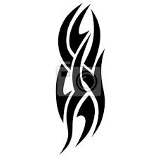 Fototapeta Tribal Tetování Vektorové Skici Návrhu Samostatné Rukávové Rameno