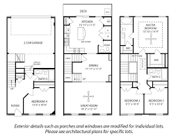 Highland SE 4 Bedroom Floor Plan  Berry Farms  Regent Homes4 Bedroom Townhouse Floor Plans
