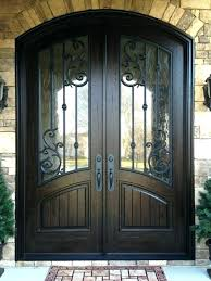 double entry door with glass double exterior doors front entry panel design finished in rustic distressed double entry door with glass