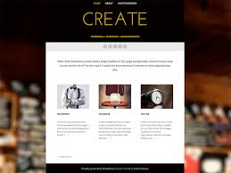 themes create create wordpress org