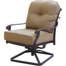 patio furniture cast aluminum deep seating rocker set swivel club swivel rocker patio furniture swivel rocker