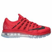 nike running shoes 2016 red. men\u0027s nike air max 2016 running shoes university red/black/gym red 806771 601