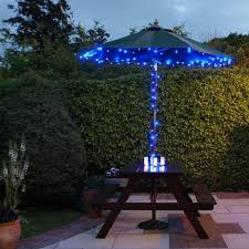solar landscape lighting ideas beautiful and safety solar best outdoor patio lights image of blue lighting