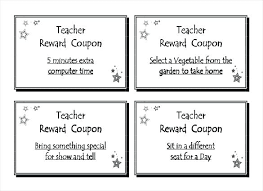 Microsoft Word Coupon Template Fascinating Teacher Reward Coupon Template Download In Format Birthday Word