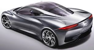 nissan infiniti emerge e 3 concept car part funded by the technology strategy board