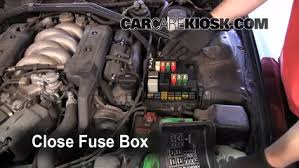 replace a fuse 1996 2004 acura rl 1998 acura rl 3 5l v6 6 replace cover secure the cover and test component