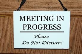 Do Not Disturb Meeting In Progress Sign Meeting In Progress Please Do Not Disturb Wood Door Hanger Etsy