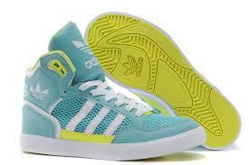 adidas shoes high tops womens. didas originals 2016 36-40 women blue white yellow adidas shoes high tops womens r