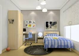 Modern Boys Bedrooms Wardrobe And Curtains Design Modern Boy Bedroom 3d House