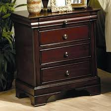 dark mahogany furniture. Dark Mahogany Furniture Coaster 3 Drawer Nightstand In Finish Main Image Chiavari .
