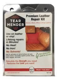 home chemicals premium leather repair kit w tear mender tmplrk