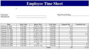 Excel Employee Time Sheet Sample Of Employee Timesheet Excel Template Timesheet