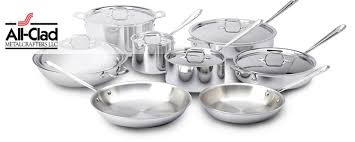 tri ply cookware.  Cookware AllClad Triply Stainless Steel Cookware On Tri Ply