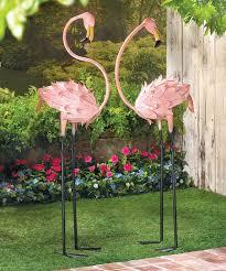 zingz thingz flamingo garden statue