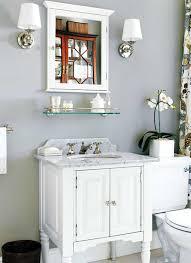 bathroom recessed medicine cabinets. Bathroom With Recessed Medicine Cabinet And Wall Sconces : Add Cabinets In Your