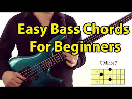 Easy Bass Guitar Chords For Beginners Youtube