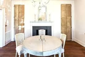 60 round pedestal dining table in whitewash wood round dining white white wash rustic dining table
